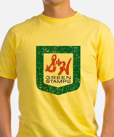 S_n_H_Green_Stamps_WHT T-Shirt