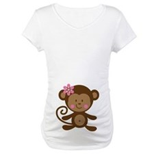 Monkey Belly Print Shirt