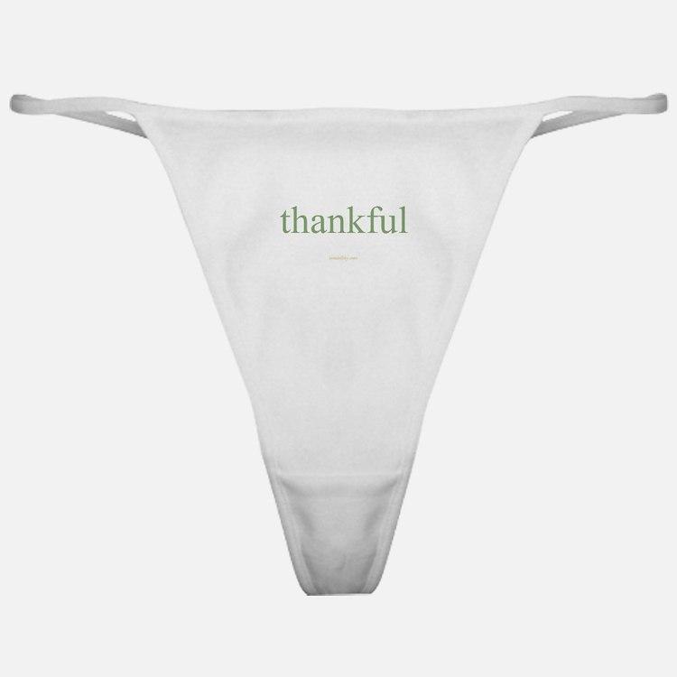 thankful Classic Thong