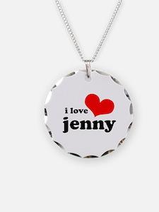 i love jenny Necklace