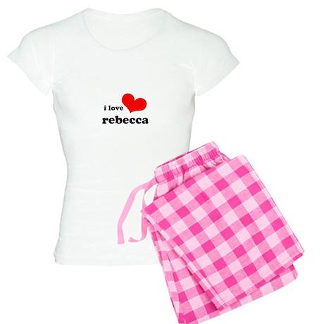 i love rebecca Women's Light Pajamas