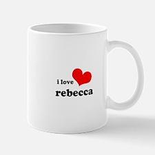 i love rebecca Mug