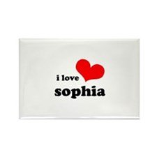 i love sophia Rectangle Magnet