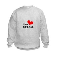 i love sophia Sweatshirt
