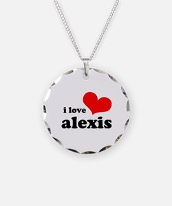 i love alexis Necklace