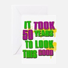 It took 50 years to look this Greeting Card