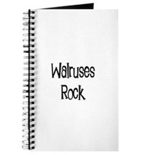 Walruses Rock Journal