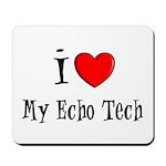 Cardiac Echo Tech Mousepad