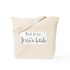 Soon Irvin's Bride Tote Bag