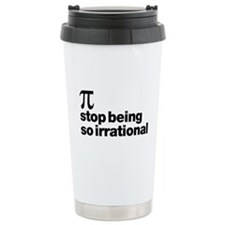 Irrational Pi Travel Mug
