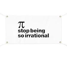 Irrational Pi Banner