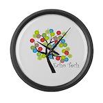 Cardiac Echo Tech Large Wall Clock