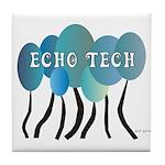 Cardiac Echo Tech Tile Coaster