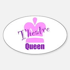 Theatre Queen Sticker (Oval)
