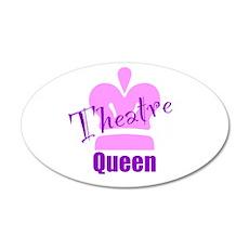 Theatre Queen 22x14 Oval Wall Peel