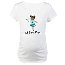 1st Time Mom Ethnic Lady Shirt