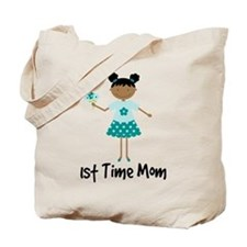 1st Time Mom Ethnic Lady Tote Bag