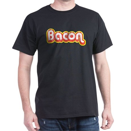 Bacon Retro Dark T-Shirt