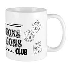 Oak Hill Dungeons & Dragons Club Mug