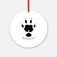 Meerschweinchen (Guinea Pig) Ornament (Round)