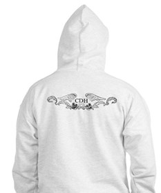 Turquoise CDH Awareness Wings Hoodie