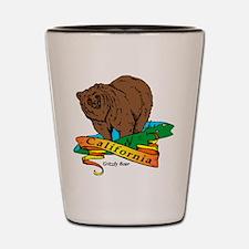 Funny California golden bears Shot Glass