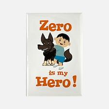 Zero is my Hero Rectangle Magnet