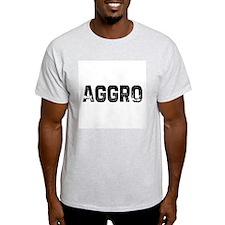 Aggro Ash Grey T-Shirt