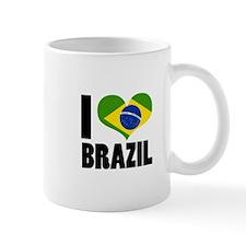 I Heart Brazil Mug