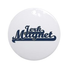 Jerk Magnet Ornament (Round)