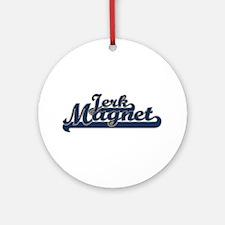 Jerk Magnet Ornament (Round)