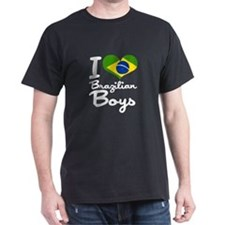 I Heart Brazilian Boys T-Shirt