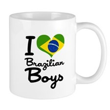 I Heart Brazilian Boys Mug