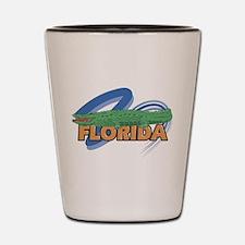 Cute Florida gator Shot Glass