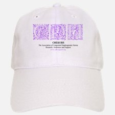 Purple Victorian CDH Awareness Logo Baseball Baseball Cap