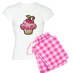 Cherry Berry Cupcake Women's Light Pajamas