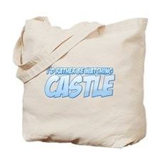 I'd Rather Be Watching Castle Tote Bag
