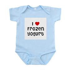 I * Frozen Yogurt Infant Creeper