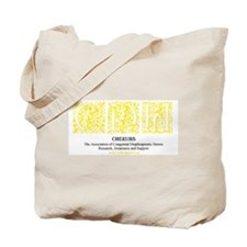 Yellow Victorian CDH Awareness Logo Tote Bag