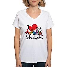 I Love My Autistic Students Shirt