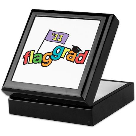 Color Guard Grad Keepsake Box