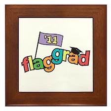 Color Guard Grad Framed Tile