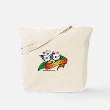 Cute American robin Tote Bag