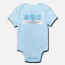 Turquoise Victorian CDH Awareness Logo Infant Body