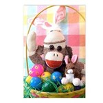 Ernie the Sock Monkey Easter Postcards (Pk 8)
