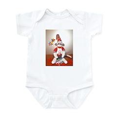 Ernie the Sock Monkey Birthday Infant Bodysuit