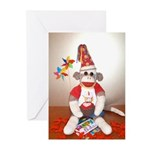Ernie the Sock Monkey Birthday Cards (Pk/10)