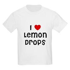 I * Lemon Drops Kids T-Shirt