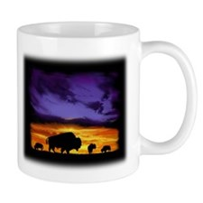 Funny Bison art Mug