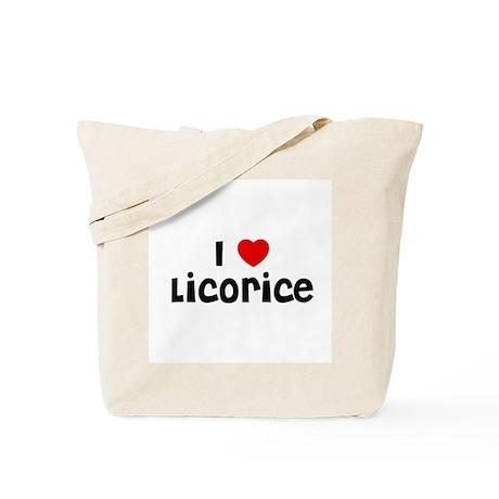 I * Licorice Tote Bag